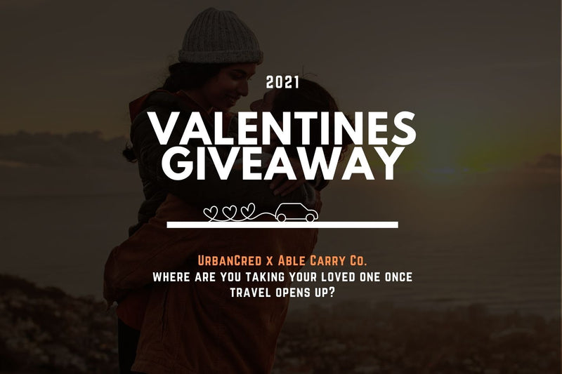 UrbanCred x Able Carry Co. Valentines Giveaway