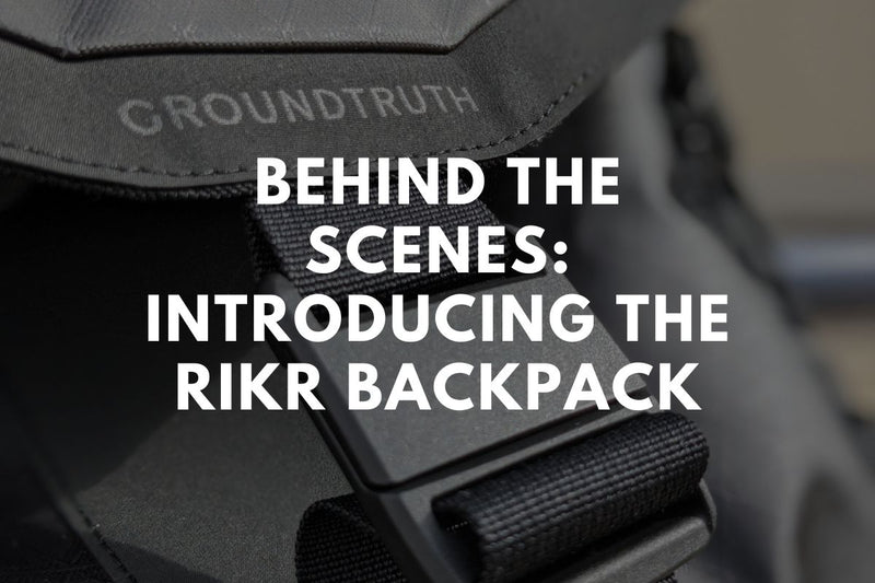 Behind the Scenes: Introducing the RIKR Backpack