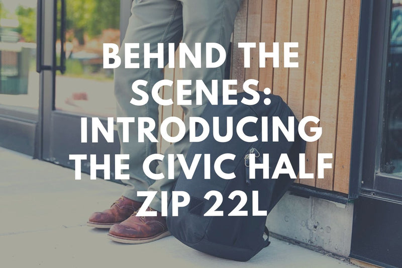 Behind the Scenes: Evergoods Civic Half Zip 22L