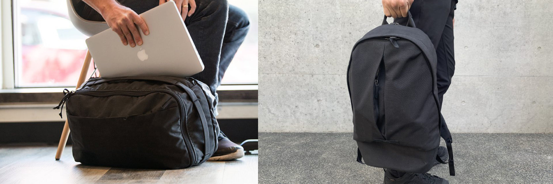 Evergoods CPL24 & Bellroy Classic Backpack Plus
