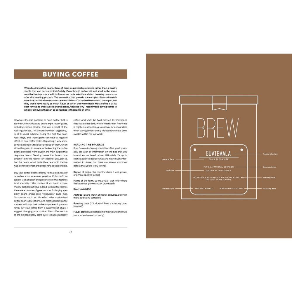 Brew: Better Coffee At Home Book - UrbanCred