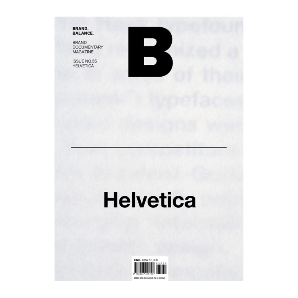 Magazine B Issue #34 - Helvetica