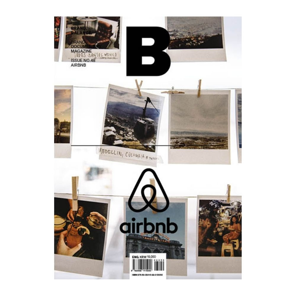 Magazine B Issue #48 - AIRBNB