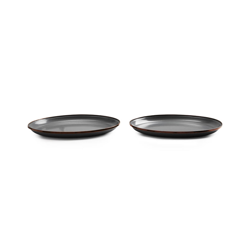 Enamel Deep Plate Set - UrbanCred