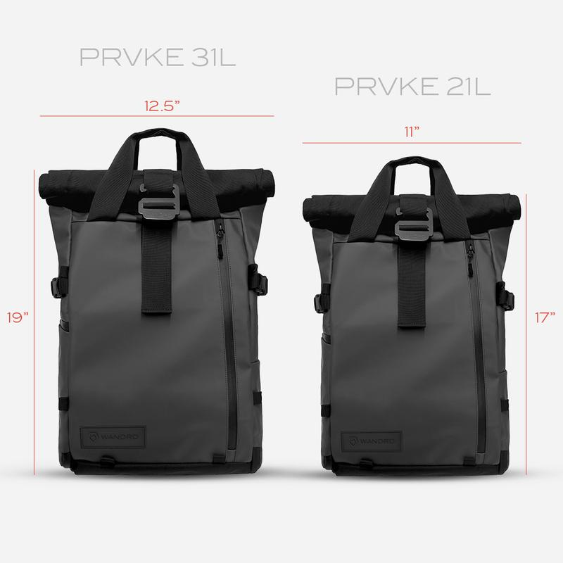 The PRVKE Backpack Series - UrbanCred