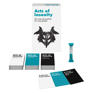 Acts of Insanity Card Game - VixenAndStag