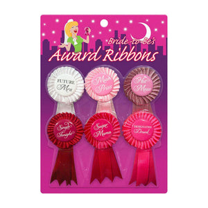 Bride to Be Award Ribbons - VixenAndStag