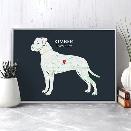 Dog Breed Maps
