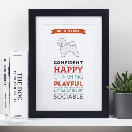Dog Breed Traits Prints