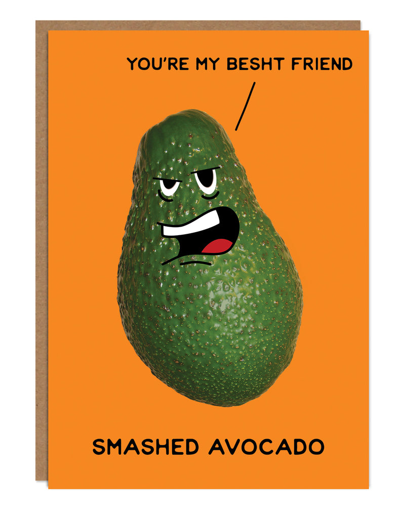 'Smashed Avocado' Birthday Card