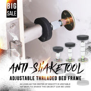 Adjustable Threaded Bed Frame Anti-shake Tool-Give you a new bed, shaking problem disappears!