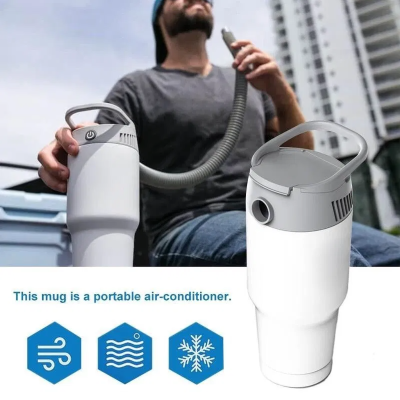 Personal Cooling & Heating System-Stay comfortable when it's extremely hot or chilly