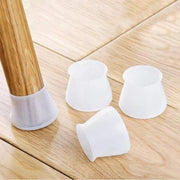 Silicone protective cover for furniture legs