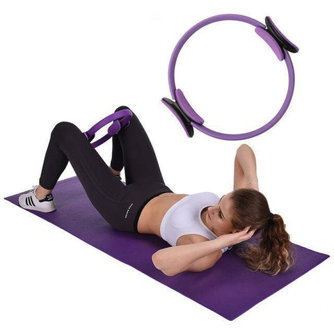 (50% off & Buy 2 Free Shipping) - Pilates Ring for Fitness Full Body Workout Yoga Weight Loss Sculpting Unbreakable Exercise Equipment for Home