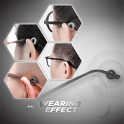 Anti-Slip Round Comfort Glasses Retainers—stabilize your glasses - hotlingss