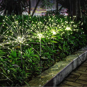 Holiday Promotion!-Waterproof Solar Fireworks Lamp