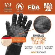 Heat Resistant Cooking Gloves - hotlingss