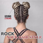 Messy Rose Bun-Create your own style in seconds - hotlingss