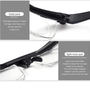The Adjustable Focus Reading Glasses-For Crystal Clear vision - hotlingss
