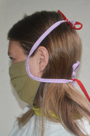Fabric Face Mask Khaki