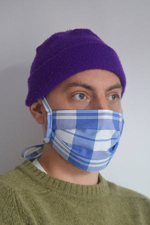 Fabric Face Mask Plaid