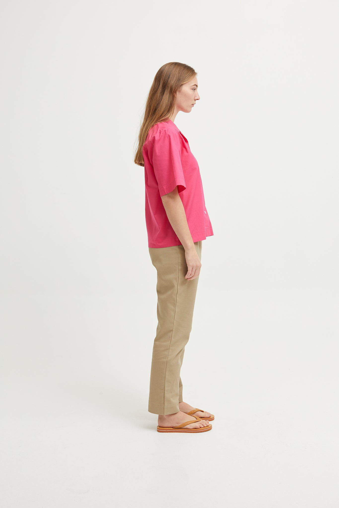 Plain Fuschia Shirt
