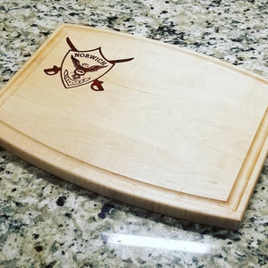 Norwich University - The Shield Cutting Board