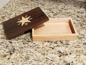 Texas Themed Solid Wood Box