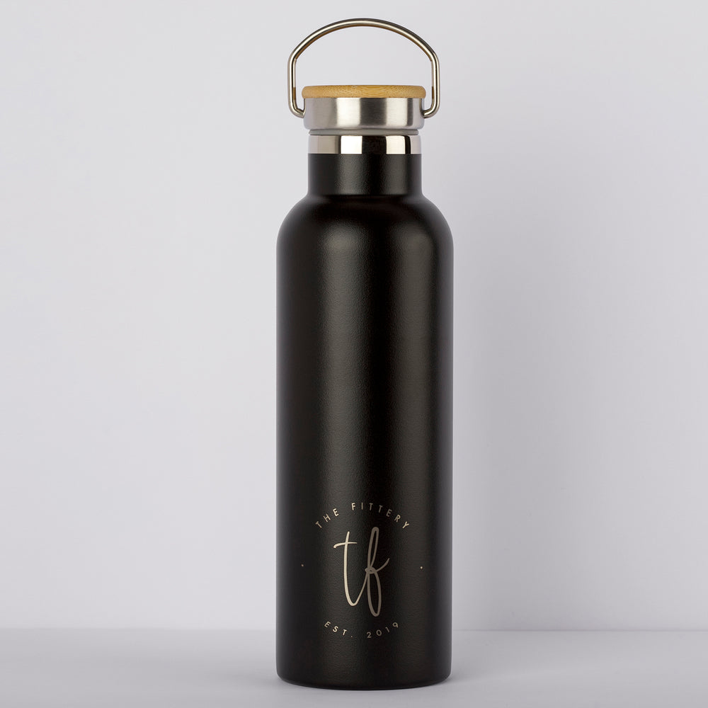 Hydro Bottle - matte black - the fittery