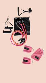 Tube Band + Ankle Straps pink - the fittery