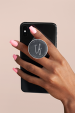 Handyhalter - Pop Socket 'grey'