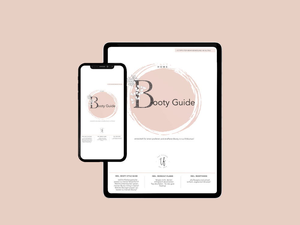 HOME GUIDE - 8 Wochen Booty - eBook - the fittery