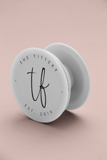 Handyhalter - Pop Socket 'white' - the fittery