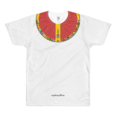 ADA Lion - Premium T-shirt | Central African Republic