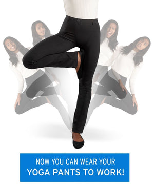 TODAY 60% OFF--NEW ARRIVAL Ultra-Elastic Dress Soft Yoga Pants