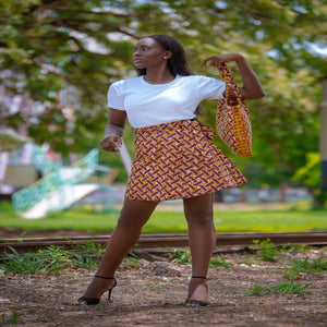 Lagos Reversible Skirt