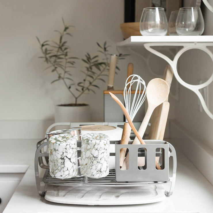 Utensil Holder for the Dish Rack
