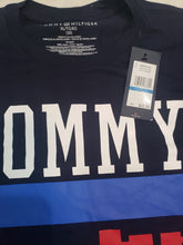 Load image into Gallery viewer, Navy Blue Tommy Tshirt- size 20 boys