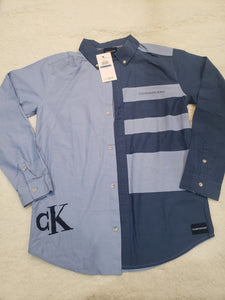 Calvin Klein boys Shirt XL 20