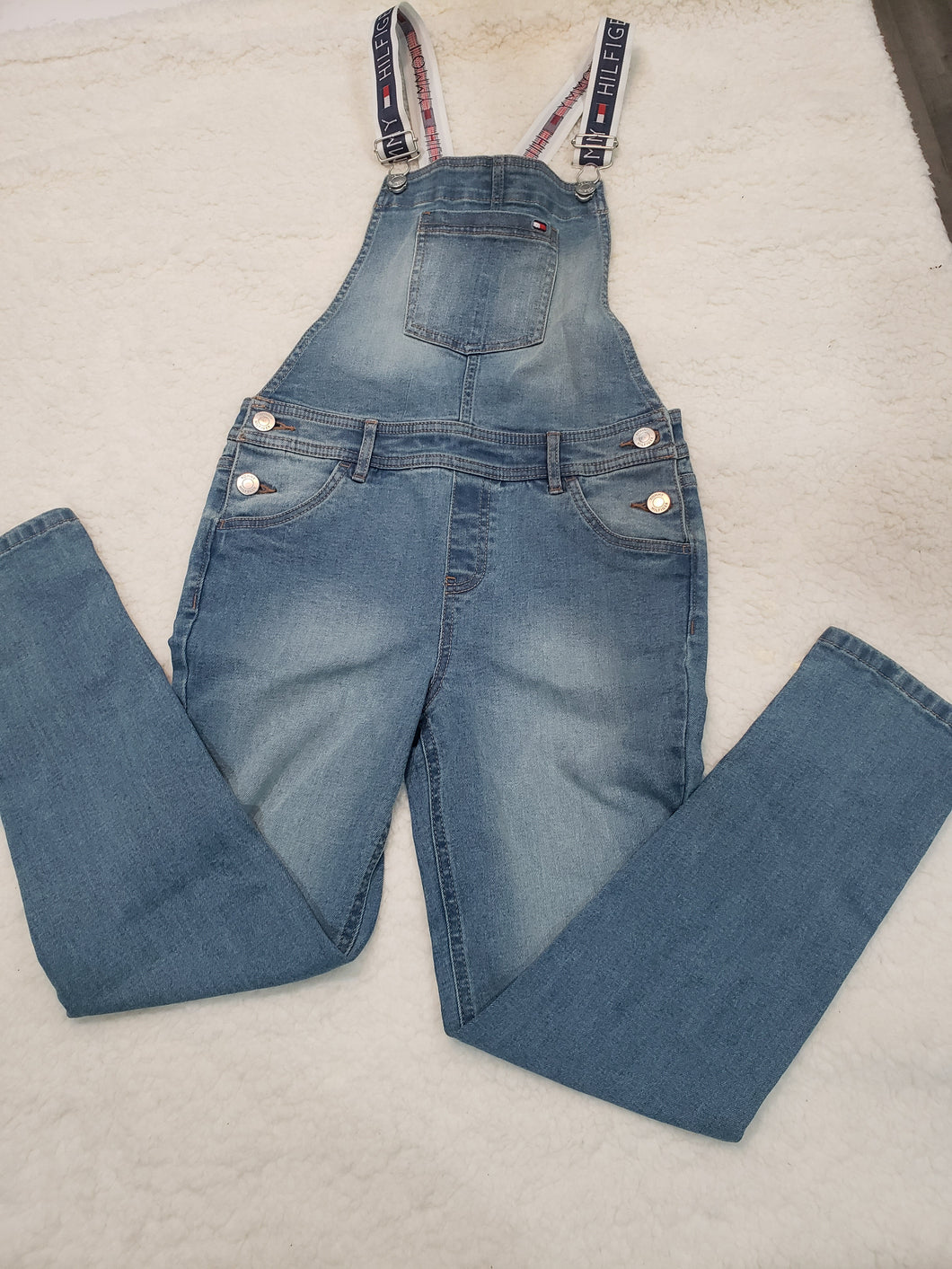 Girls Tommy Overalls _Jeans size 10