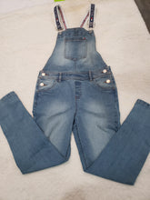 Load image into Gallery viewer, Girls Tommy Overalls _Jeans size 10