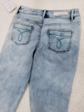 Load image into Gallery viewer, Calvin  klein Girls Patchwork Jeans -size 10