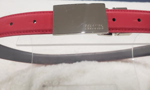 Kenneth Cole designer belt Red
