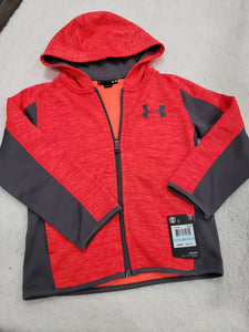 Under Armour boys Hoodie LS 5t Orange multi