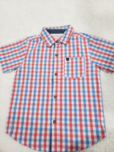 Load image into Gallery viewer, Calvin Klein Boys shirt 5t multi button down
