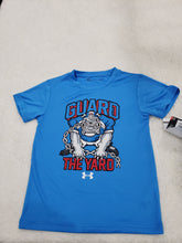 Load image into Gallery viewer, Under Armour boys top 5t blue dog