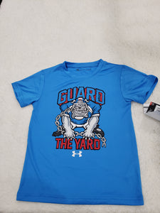 Under Armour boys top 5t blue dog