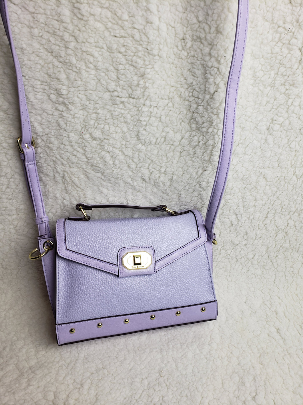 Juicy Couture lilac pocketbook