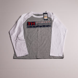 Grey Tommy Long sleeve-Tshirt 7 boys