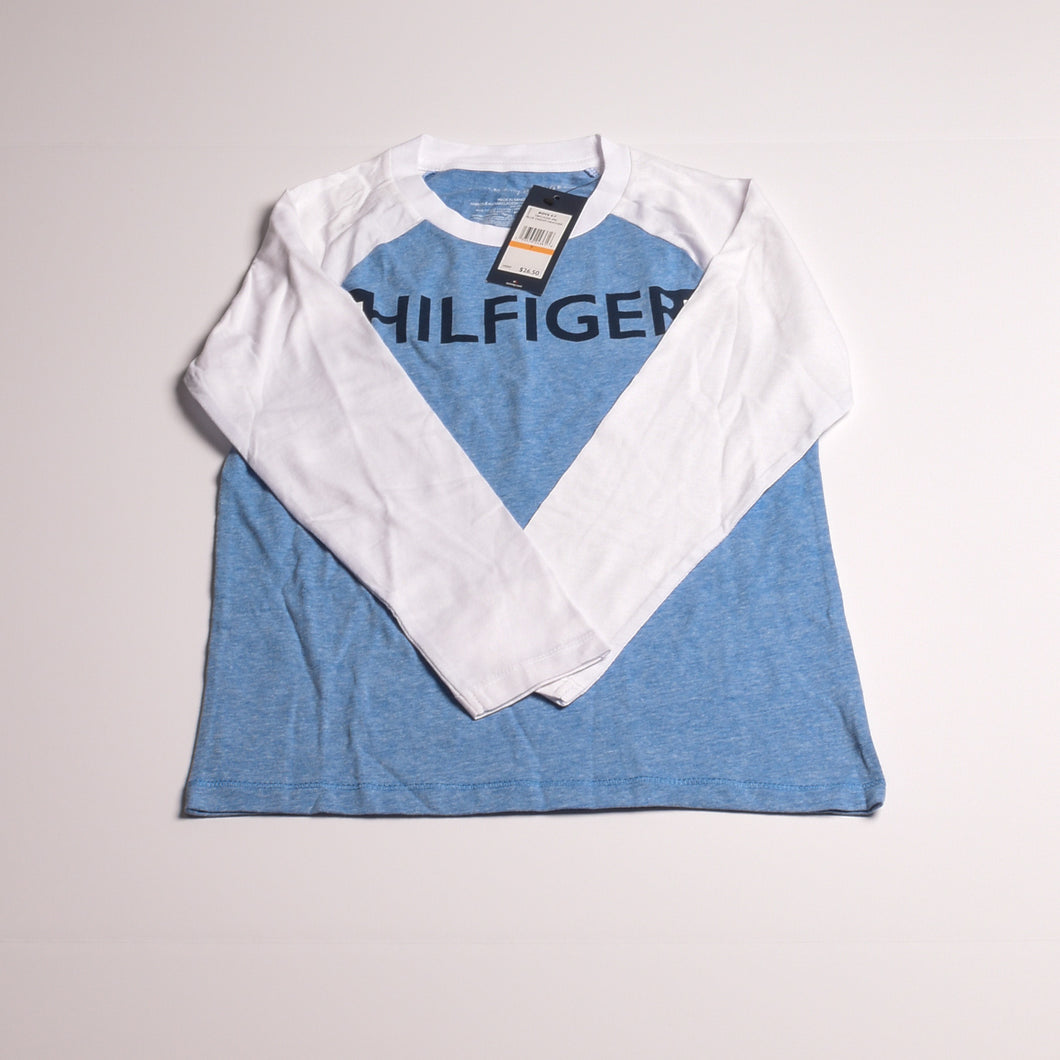 Boys blue/white TH longsleeve tshirt 7